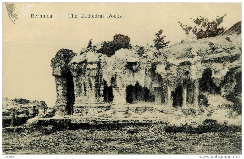 BERMUDA      CATHEDRAL ROCKS - Bermudes