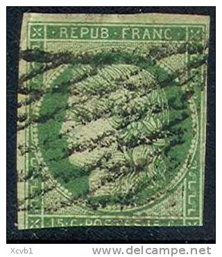 # France    2a Used, Sound  (fr002-13    Mich 2a   [16-ITT - 1849-1850 Ceres
