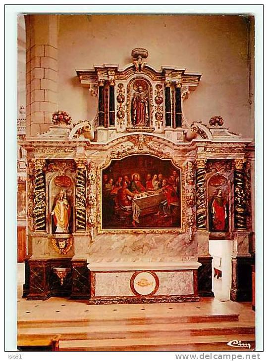 Dép 85 - Saint Hilaire De Riez - Rétable Baroque -  état  - Semi Moderne Grand Format - Saint Hilaire De Riez