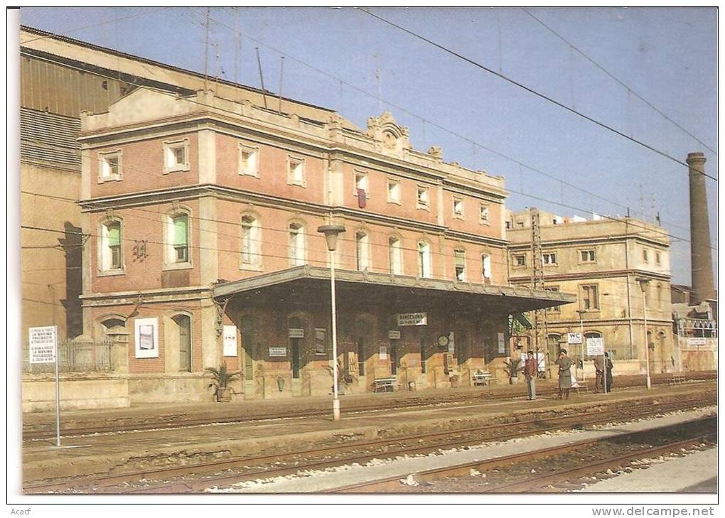 EUROFER 178  - Gare De BARCELONE - PUEBLO NUEVO (ESPAGNE) - Stazioni Senza Treni