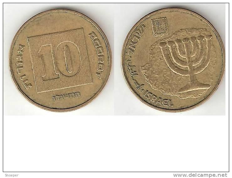 Israel 10 New Agorat  1986  Km 158  Xf+ - Israel