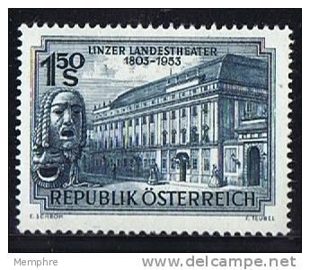 1953  Théâtre De Linz  * MH - 1945-.... 2. Republik
