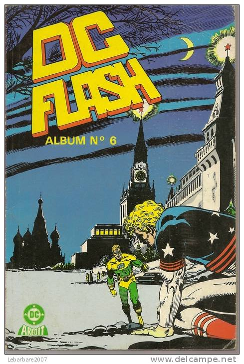 DC FLASH  Reliure N° 6 ( N° 11 + 12 ) -  AREDIT 1987 - Arédit & Artima