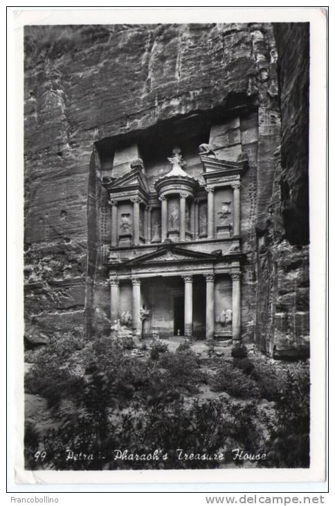JORDAN-PETRA PHARAOH'S TREASURE HOUSE - Giordania