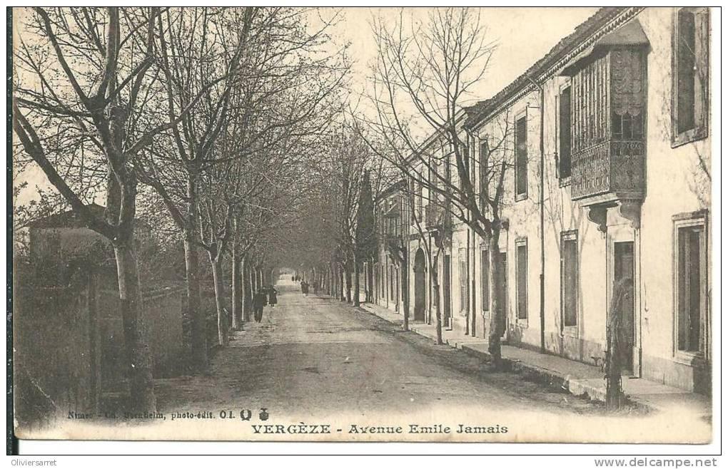 Vergèze Avenue Emile Jamais - Vergèze