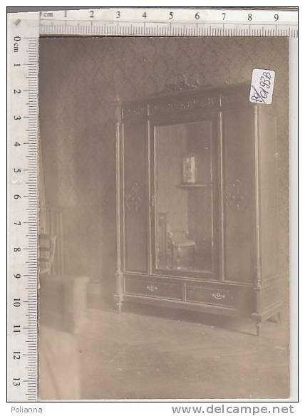 PO0193B# Fotografia - MOBILE ANTICO - ARMADIO CAMERA LETTO STILE IMPERO - REGALO NOZZE 1927 - Oggetti