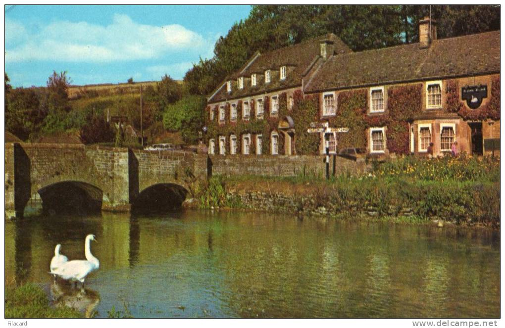 21317   Regno  Unito,  River  Coln,  Bibury,  Gloucestershire,  VGSB  1982 - Inghilterra