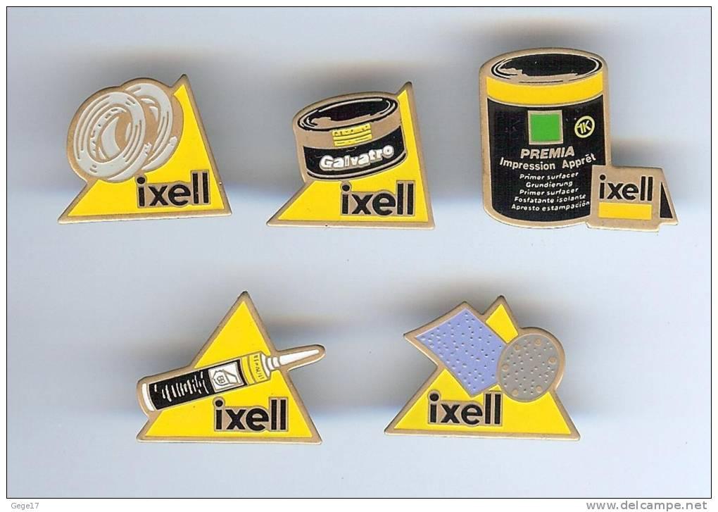 5 Pin´s IXELL - Peinture Carrosserie - Lots