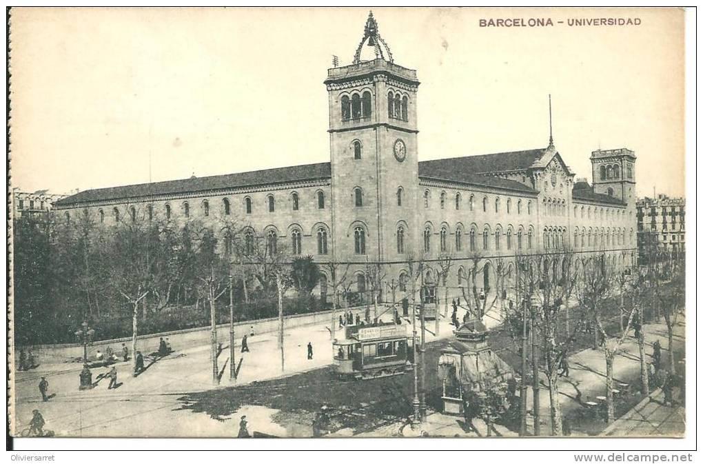 Espagne  Barcelona Universidad - Barcelona
