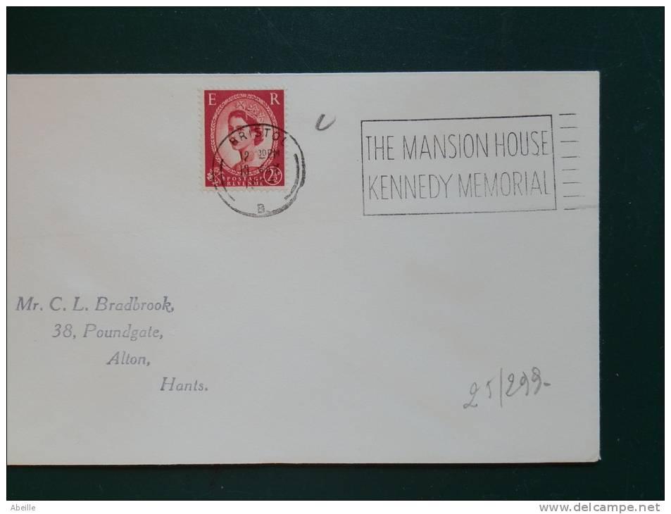 25/299    FLAMME   G.B.     KENNEDY - Kennedy (John F.)