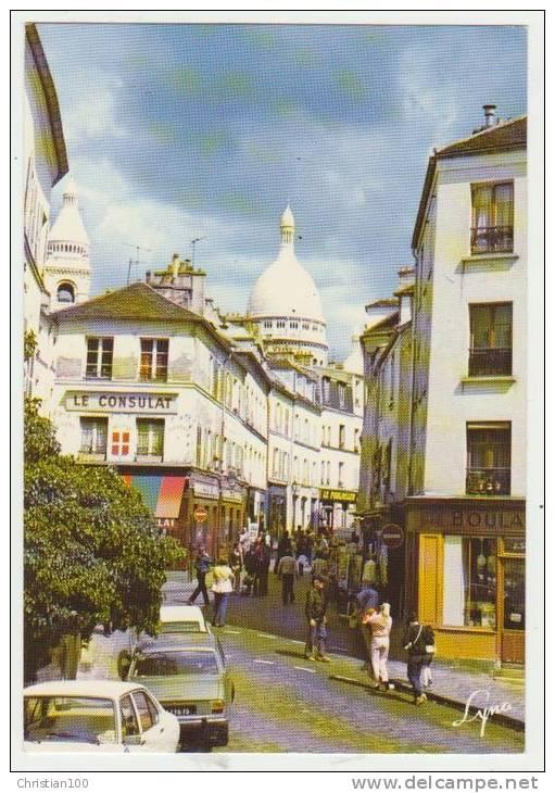 PARIS MONTMARTRE - BOULANGERIE RUE NORVINS - CPSM GRAND FORMAT - - Arrondissement: 18