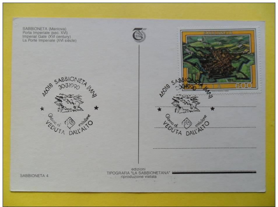 Sabbioneta (MN) - Disegno Di M. Brancaleon - Non Viaggiata - Andere Städte