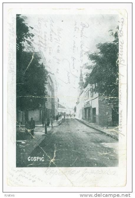 Postcard - Gospić   (V 5012) - Croazia