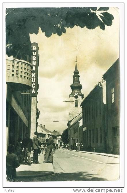 Postcard - Gospić   (V 5022) - Croazia