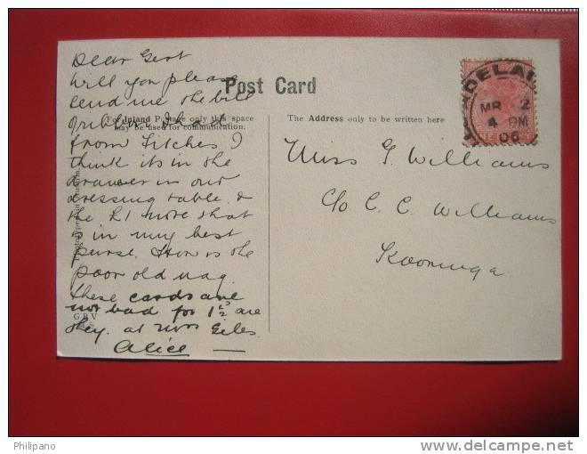 Cute  Little Girl  1906 Cancel  -  ------ ----  ----- Ref 329 - Non Classificati