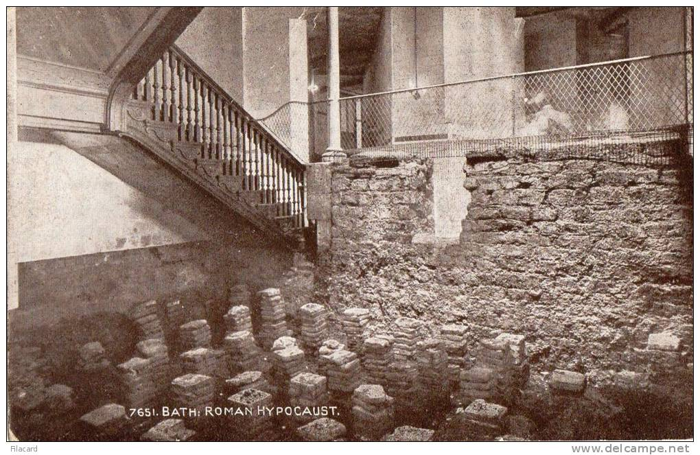 21558   Mondo, Bath:  Roman  Hypocaust,  NV - Bath