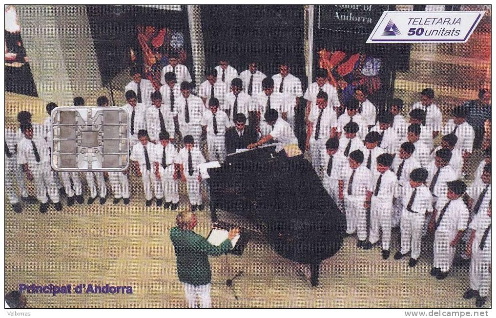 A-070 ANDORRA - Cor Nacional - Tirada 15000 - Andorra