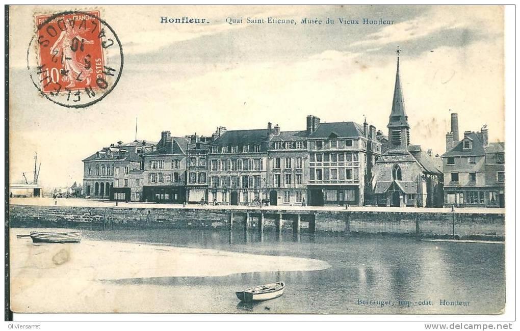 Honfleur   Quai Saint étienne - Honfleur