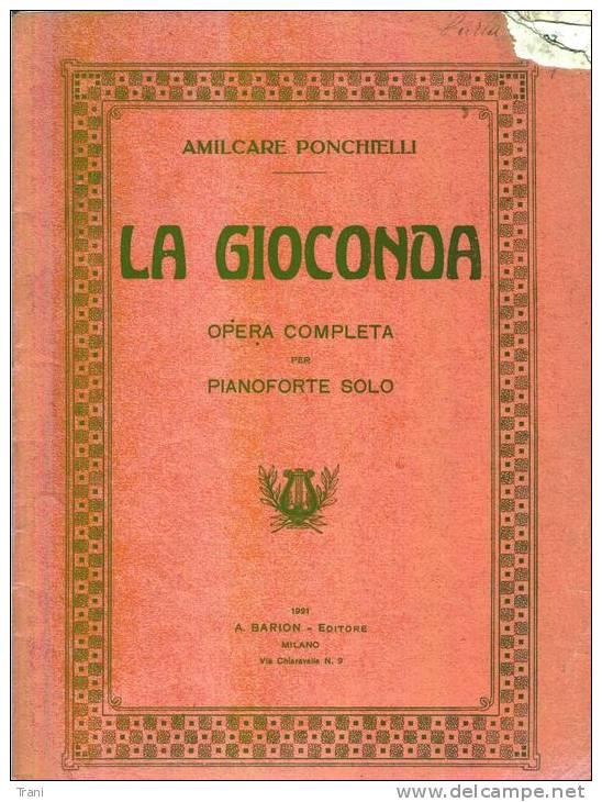 LA GIOCONDA - Opern