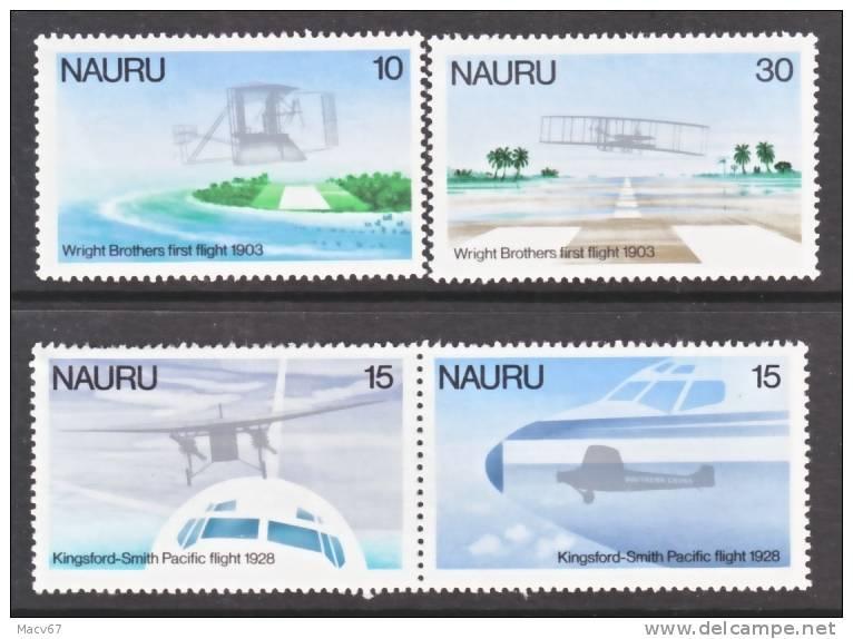 Nauru 191-4  **  AERO - Nauru