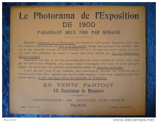 -Le Photorama De L´Exposition De 1900-N°26- - Reise & Fun