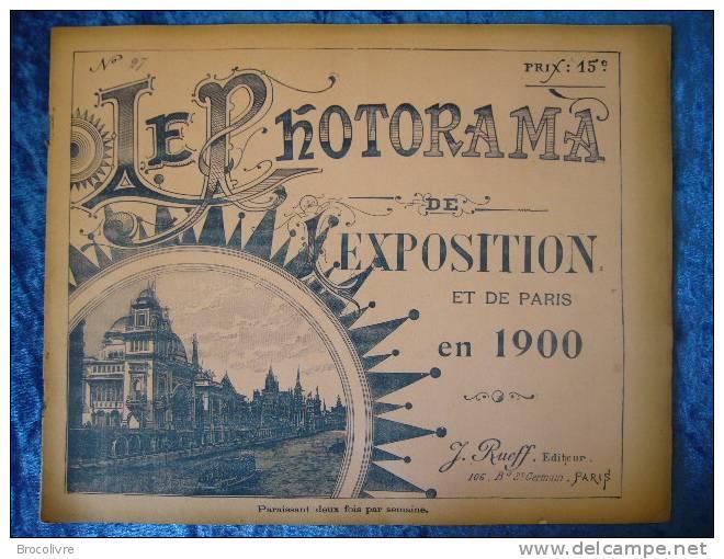 -Le Photorama De L´Exposition De 1900-N°27- - Reise & Fun