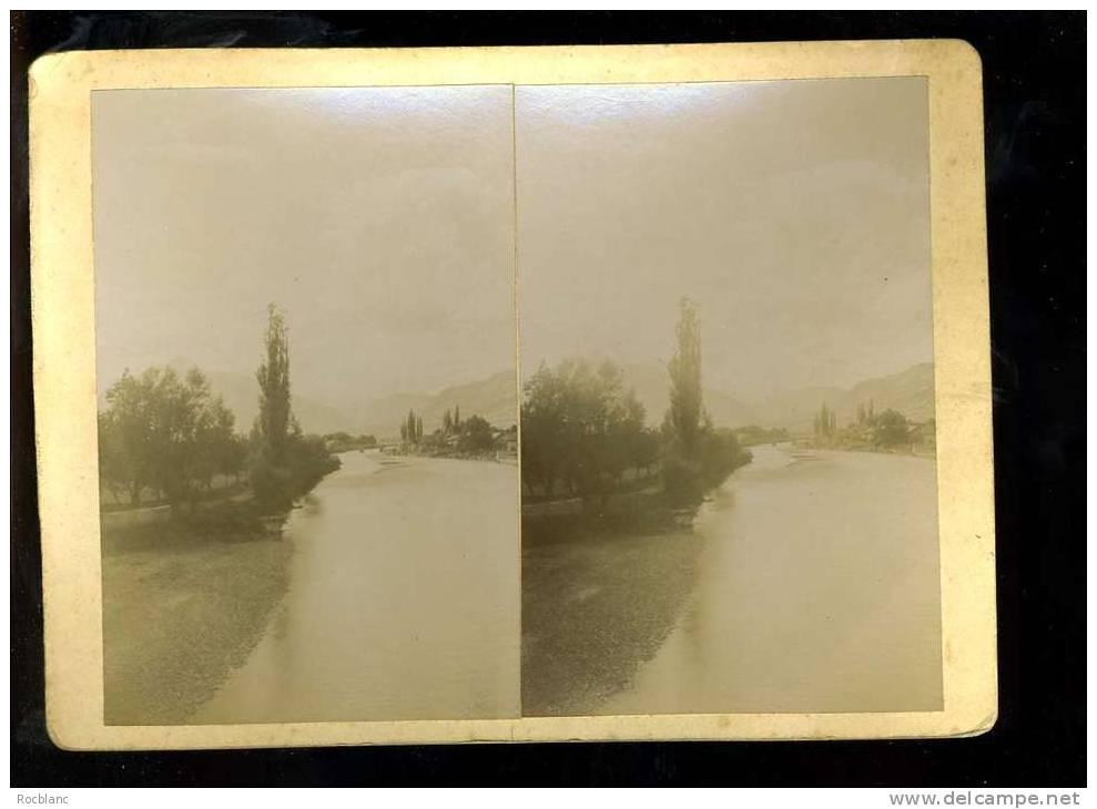 PHT4 HAUTE SAVOIE Photo Originale Fin 19 ème Siècle Format 18x13 L'Aroc à Cluses - Photos Stéréoscopiques