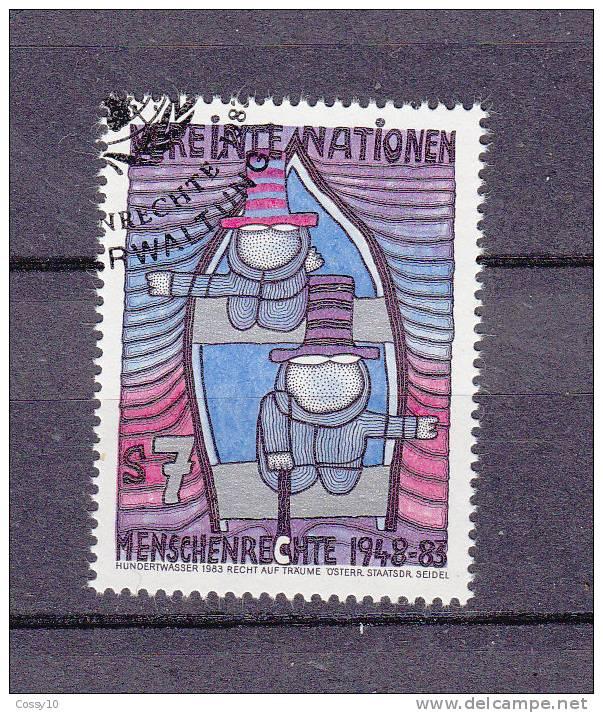 NATIONS  UNIES  VIENNE  1983 N° 36 - 37   OBLITERES    CATALOGUE YVERT - Centre International De Vienne