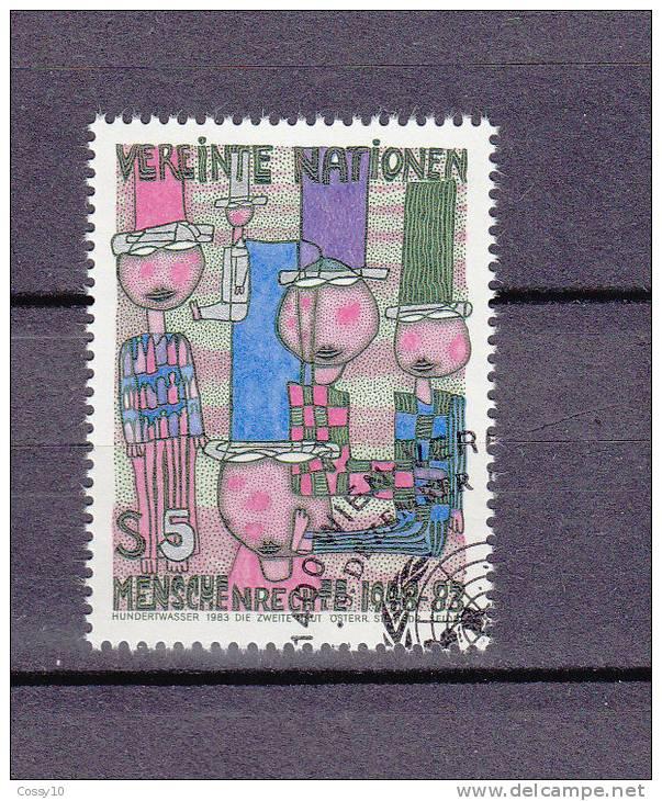 NATIONS  UNIES  VIENNE  1983 N° 37   OBLITERE    CATALOGUE YVERT - Oblitérés