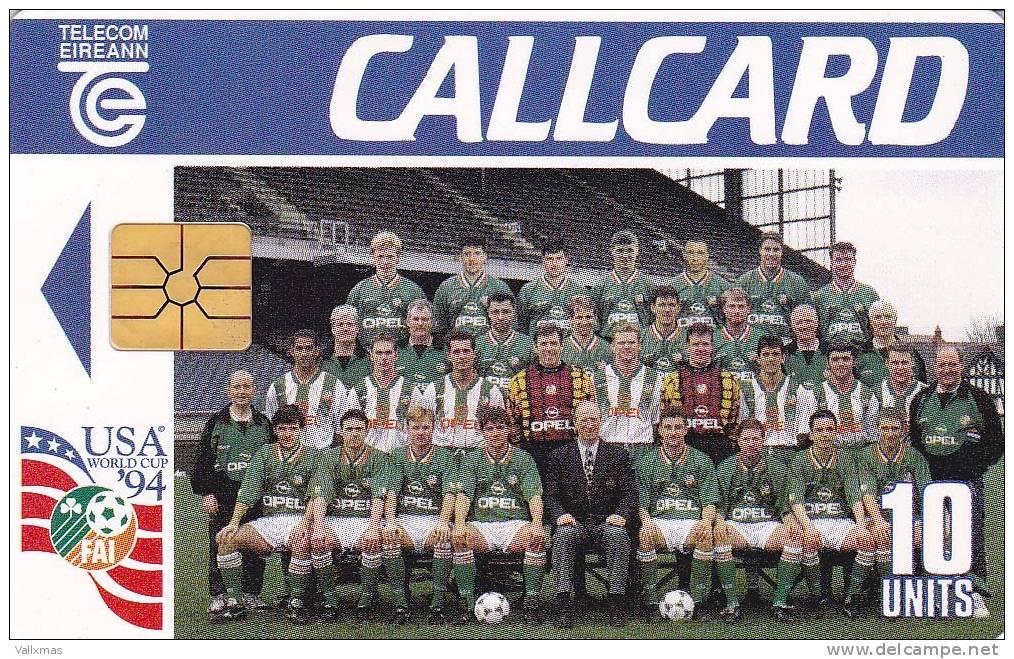 Irlanda WORLD CUP USA' 94 - Irlanda