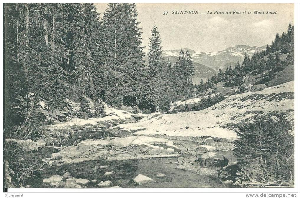 Saint Bon Le Plan Du Fou Et Le Mont Jovet - France