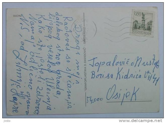 ULCINJ    ( Montenegro  ) *  Travelled 1973. - Montenegro