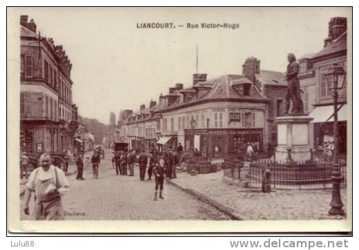 60 LIANCOURT  Rue Victor Hugo  Editeur Dacheux      051111 - Liancourt
