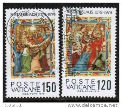 VATICAN   Scott #  648-51  VF USED - Vatican