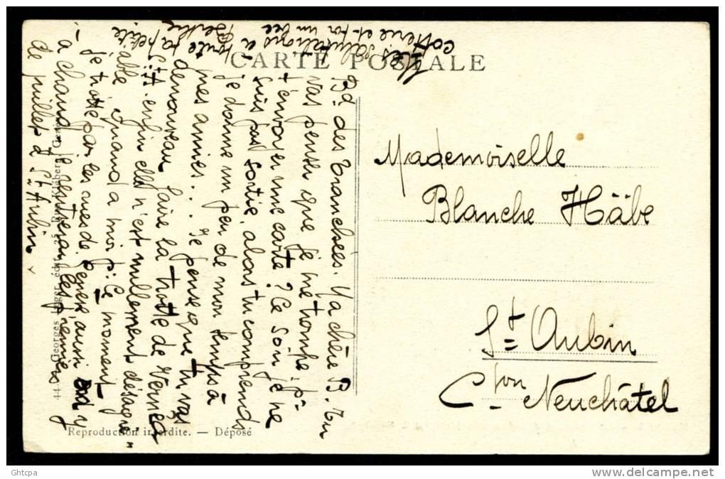 CPA. SUISSE. GUERRE 1914-1915. Le Passage Des évacués Français à Genève. A Chacun Un Cadeau. - Guerre 1914-18