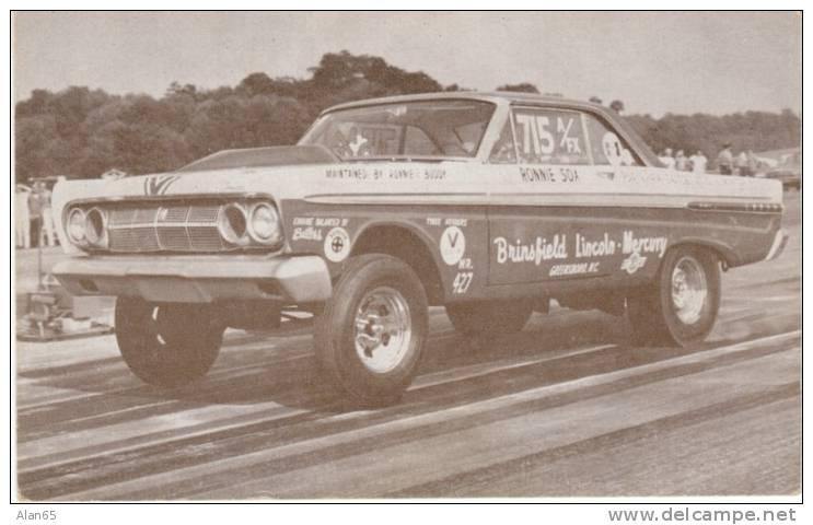 Ronnie Sox Of Greensboro Nc Drag Races 427 Comet Race Car