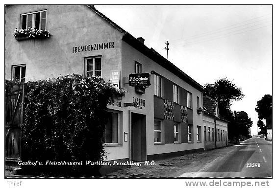 Perschling 1: Gasthof U. Fleischhauerei Wurlitzer - Non Classés