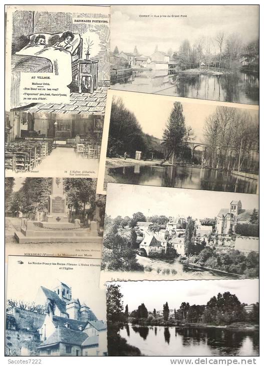 A SAISIR LOT DE 500 CPA DE LA VIENNE (86) - Cartes Postales