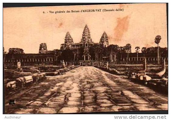 L Crespin 6, Vue Générale Des Ruines D'angkor-vat (chaussée Dallée) - Kambodscha