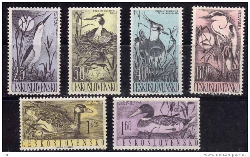 Tchécoslovaquie 1960 N°Y.T. ;  1109 à 1114** - Tchécoslovaquie