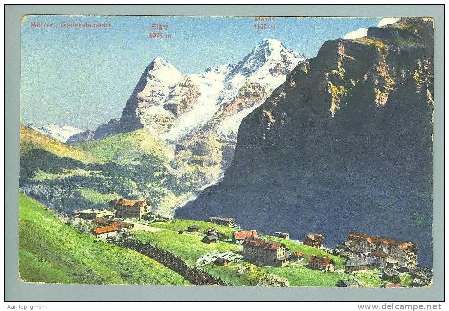 BE Mürren 1912-12-29 Foto #3054 - BE Berne