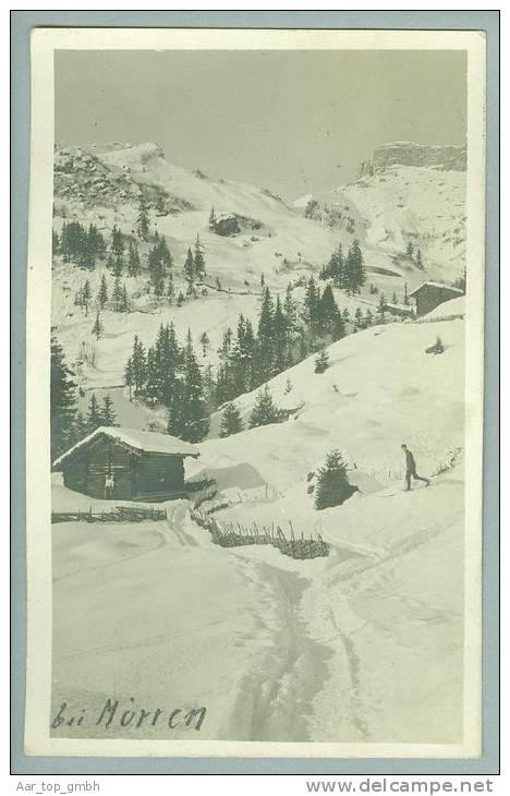 BE MÜRREN Winterlandschaft 1914-01-03 Foto - BE Berne
