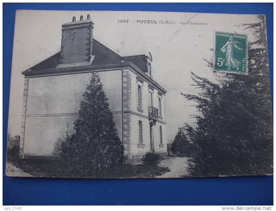 PUCEUL  Les Chasseraies 1914 - France