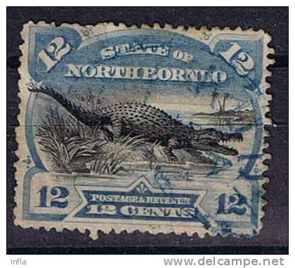 Nordborneo, Michel # 55 O - North Borneo (...-1963)