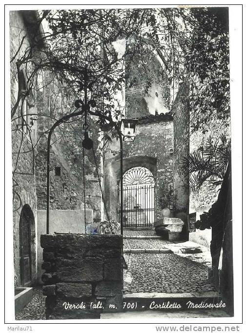 1161 LAZIO VEROLI FROSINONE LUCIDA VIAGGIATA NEL 1958  - FORMATO GRANDE - Italia