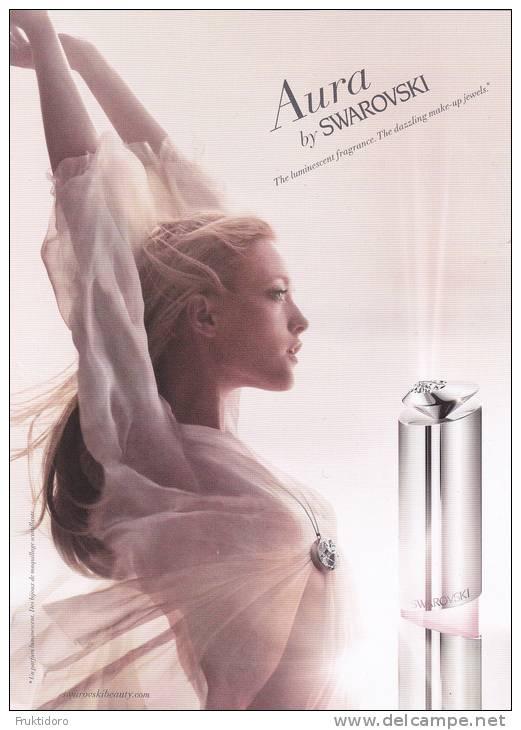 Perfume - Aura By Swarovski Eau De Toilette - Parfums - Stalen
