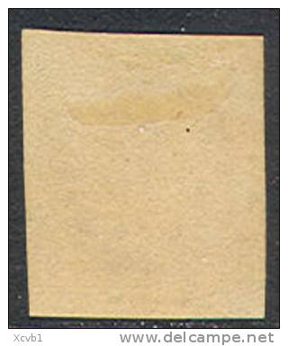 # France 21, Michael 17b Dunkelkarmne Variety, Used, RARE, Sound, 4 Mgns.   (fr021-4, Michel 17b , [16-CBRT - 1853-1860 Napoleon III