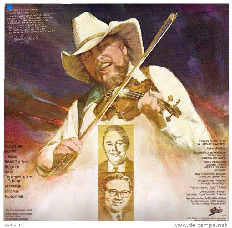 * LP *  CHARLIE DANIELS BAND - MILLION MILE REFLECTIONS (USA 1979) - Country En Folk
