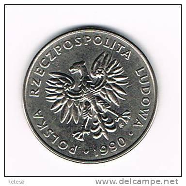 POLEN  20 ZLOTYCH  1990 - Polen