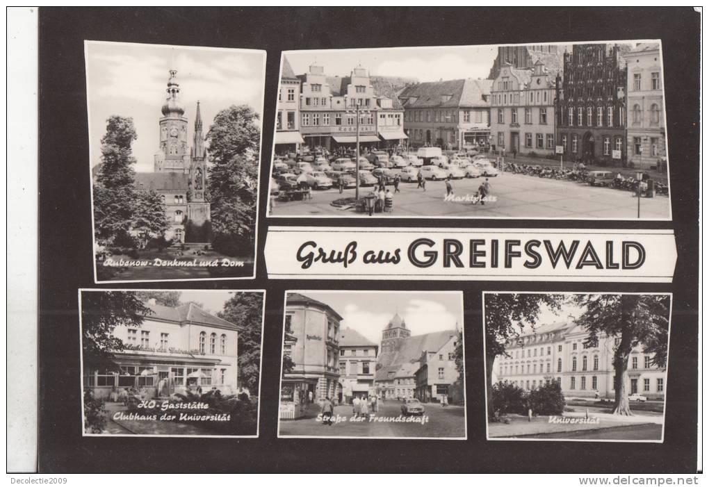 N3115 Greifswald Multiviews Not Used Perfect  Shape - Greifswald